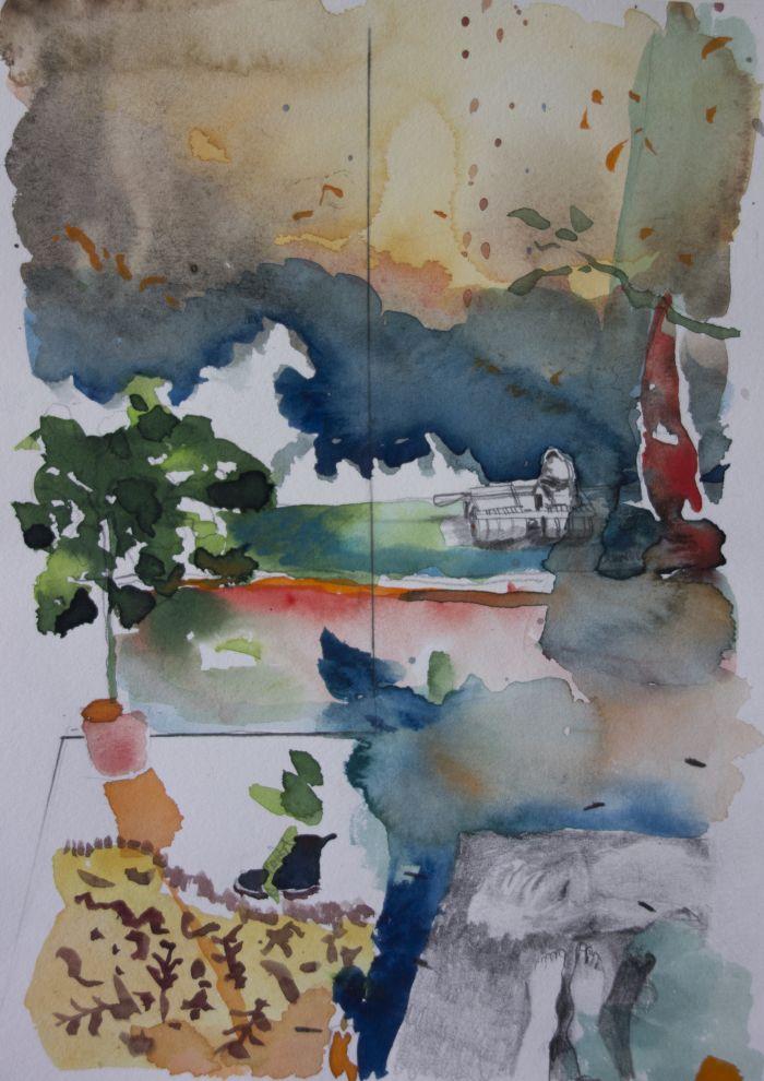 02-mag-entracte-dessin-preparatoire-aquarelle-et-graphite-sur-papier-23-x-30-5-cm-2016-bd-f32e8f5151eb1a222bf39284baf15d71