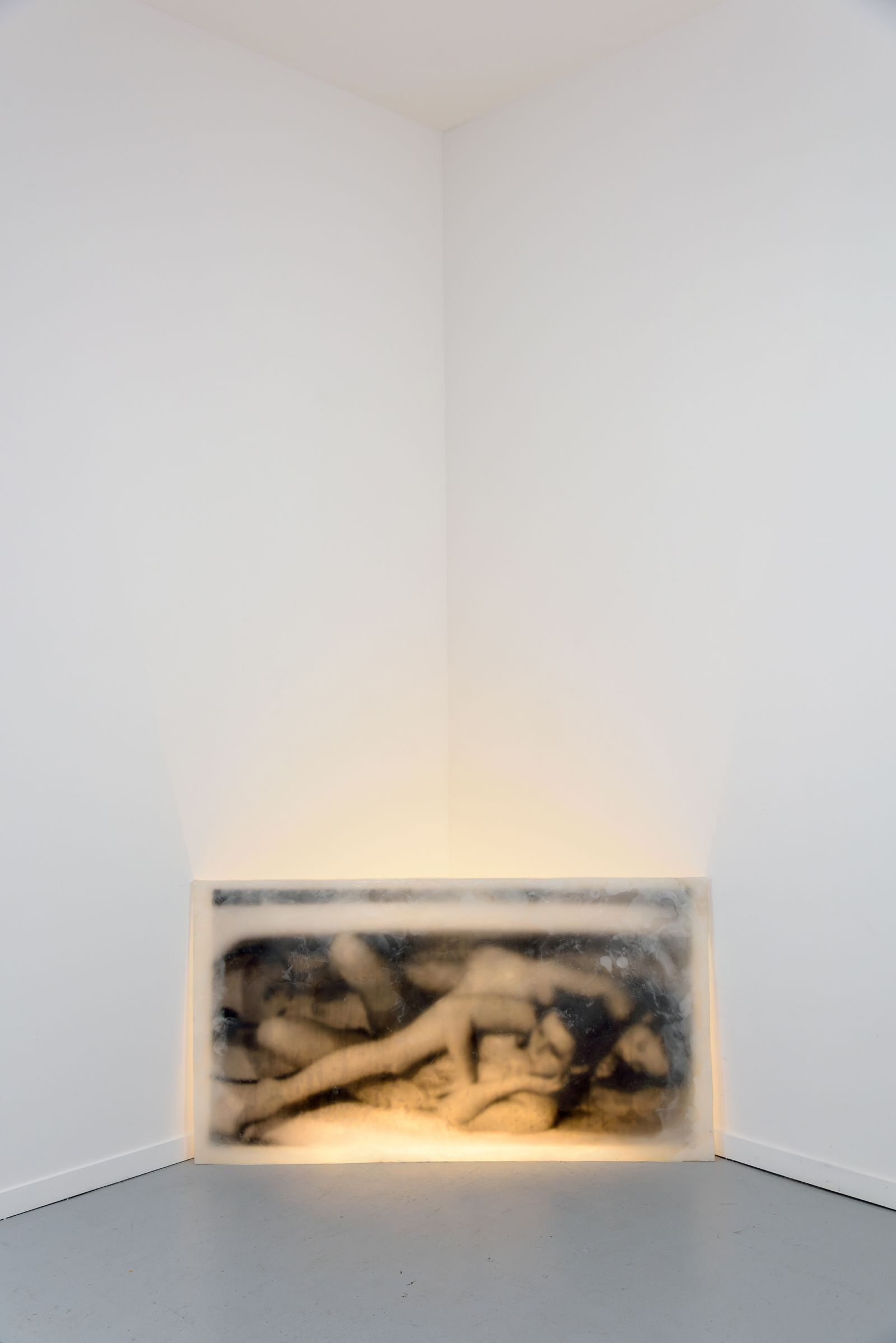 alicia-zaton-umyj-sie-2014-image-emprisonnee-dans-une-plaque-de-cire-paraffine-eclairage-fluo-69x128cm-19c0943c05731fc7012eeaed0d93928e
