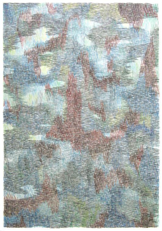 armelle-de-sainte-marie-forest-tram-2013-gouache-et-encre-sur-papier112x77cm-aac84686287d4dc99b98a73f78b6cd44