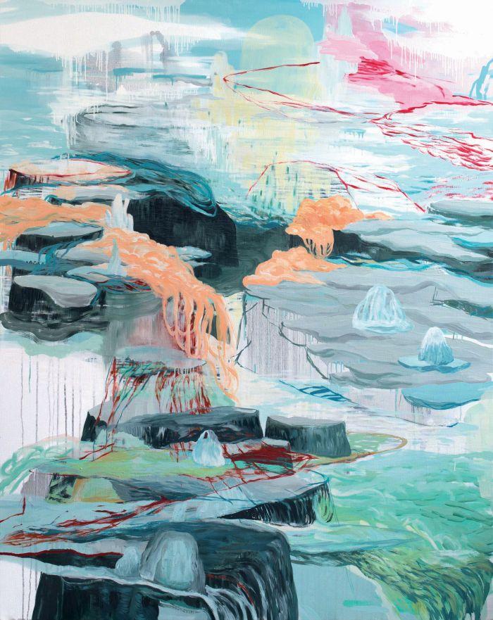 armelle-de-sainte-marie-odyssee-21-2015-huile-sur-toile-162x130cm-5309665034fc15f646edcb998e9f7584