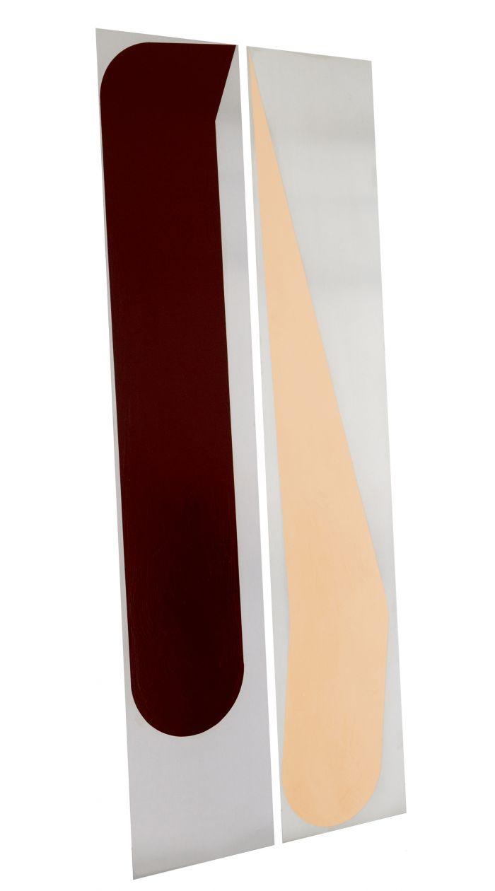 benoit-gehanne-projections-15-2013-laque-sur-aluminium-2-plaques-200x38cm-c3929e22b642e4f3b19a7c24a102b574