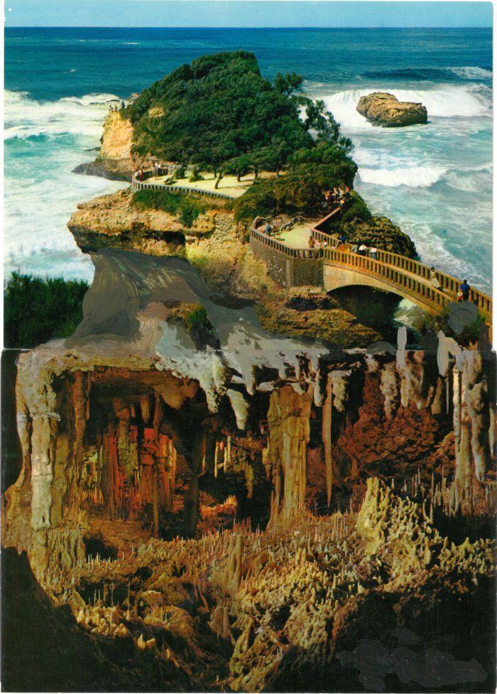 pierre-ardouvin-etudes-pour-ecrans-de-veille-11-19-2013-2014-cartes-postales-assemblees-et-peinture-acrylique-15x21cm-d97a6321447bbf762a153761c6adad68