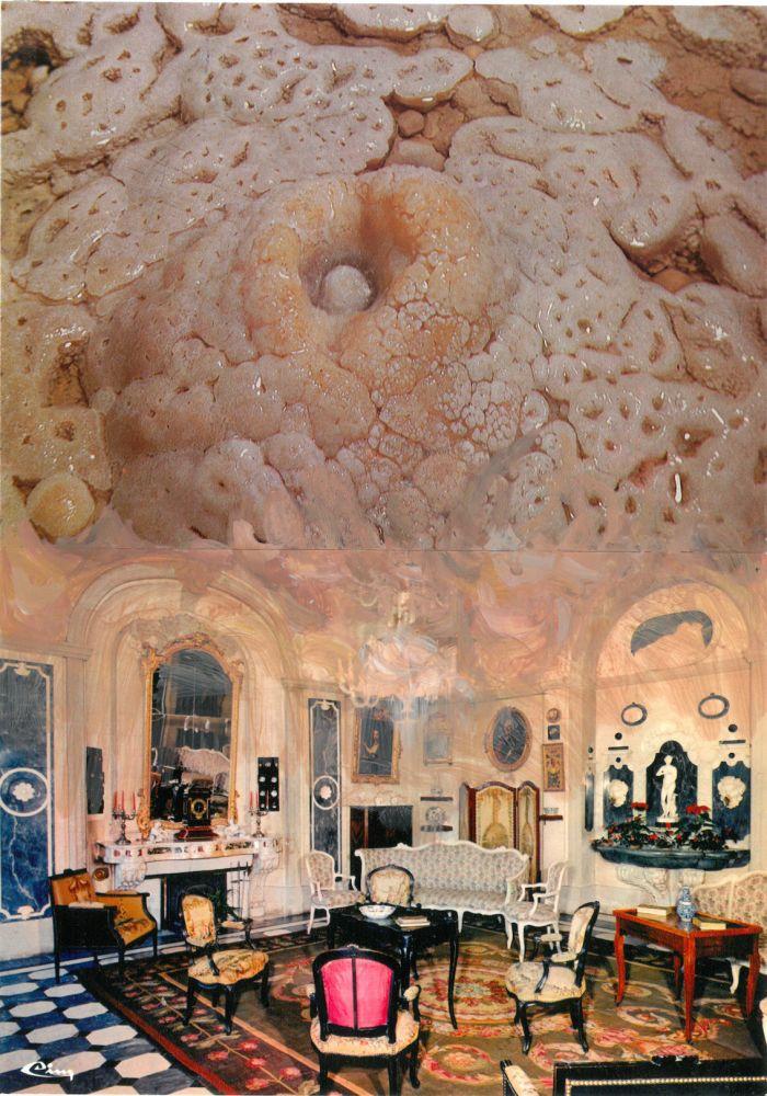 pierre-ardouvin-etudes-pour-ecrans-de-veille-17-19-2013-2014-cartes-postales-assemblees-et-peinture-acrylique-15x21cm-415639bc6f46b05a8d63634f18bd5b07