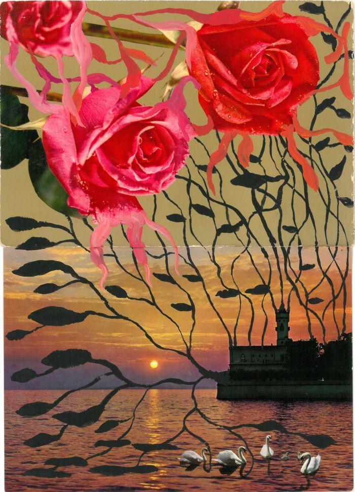pierre-ardouvin-etudes-pour-ecrans-de-veille-6-19-2013-2014-cartes-postales-assemblees-et-peinture-acrylique-15x21cm-098b6f2b608f8e47db2fe9304031b947