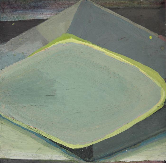 sophie-nicol-5-losange-vert-jaune-emulsion-25x25cm-d932df538bae402a4070b3bf7a249e13
