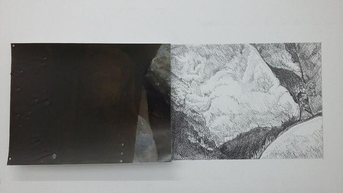 08-coraline-de-chiara-julien-verhaeghe-variation-reelle-cire-sur-tirage-numerique-et-mine-de-plomb-sur-mur-7x14cm-2016-77536e374c54d12d28661641d70a2855