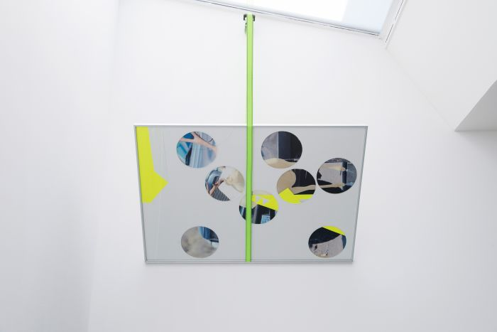 benoit-gehanne-pour-la-cheminee-2013-collage-et-sangle-150x100cm-5cd01f7b3380886632f9e55e6f44c289