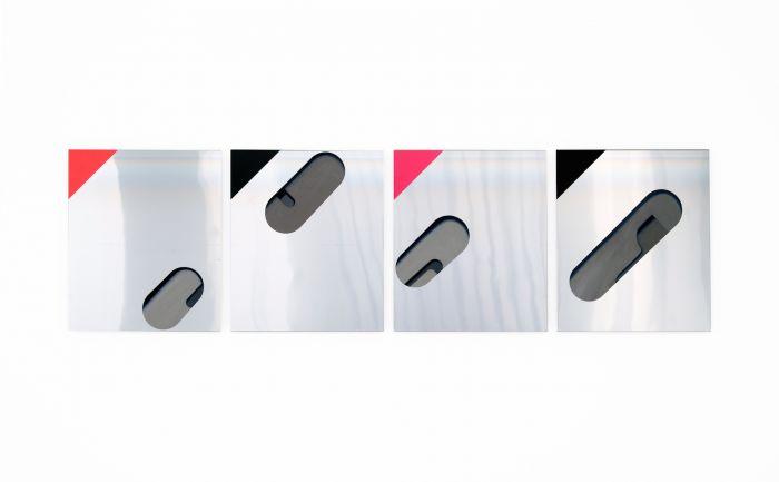 benoit-gehanne-serie-aluminium-tout-est-suspendu-2014-huile-et-acrylique-sur-aluminium-quadriptyque-55x230.5-cm-7c789ef432988c3956199c5f4fbeb00f